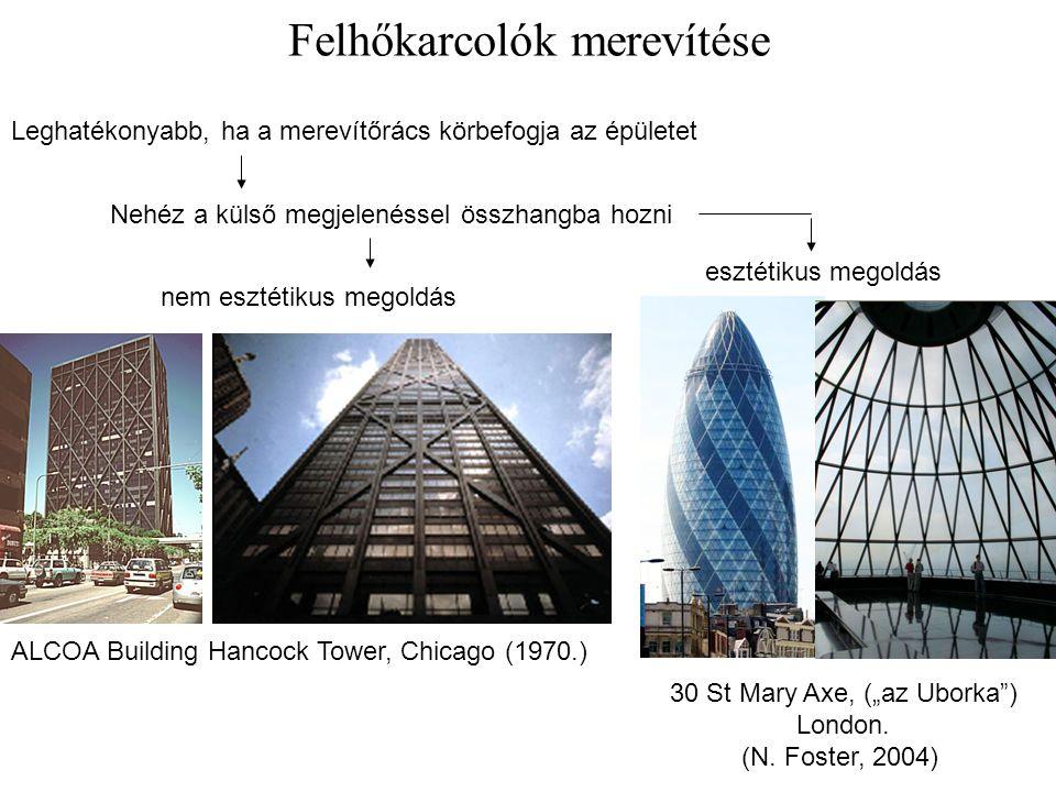 Felhőkarcolók merevítése