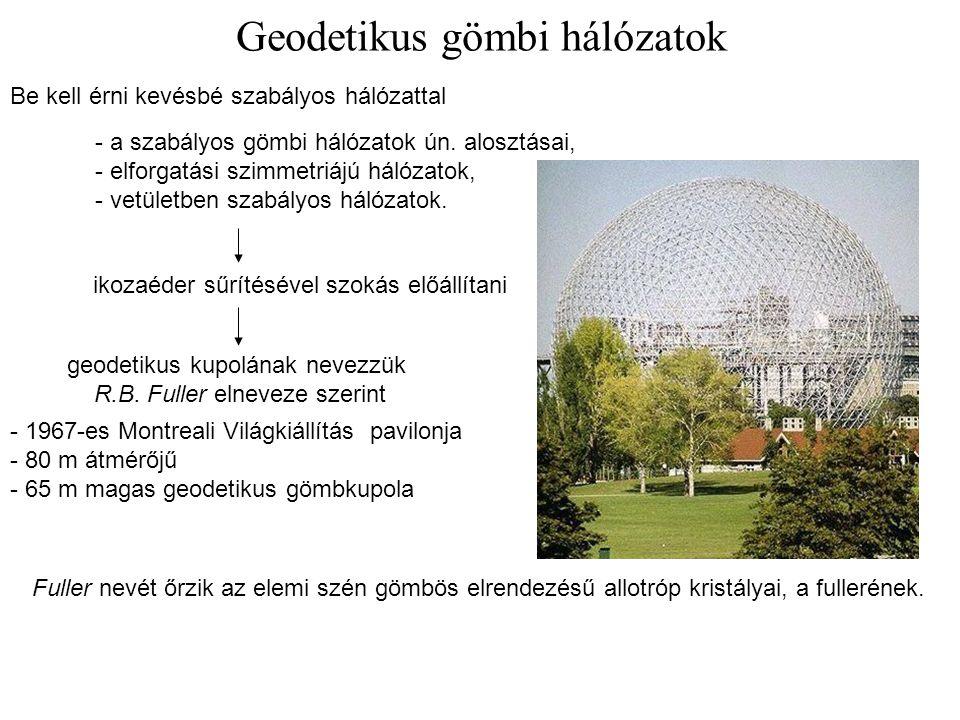Geodetikus gömbi hálózatok