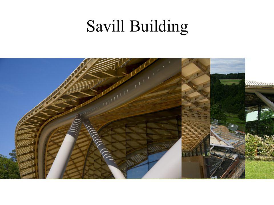 Savill Building - Savill gardens bejáratánál álló épület.