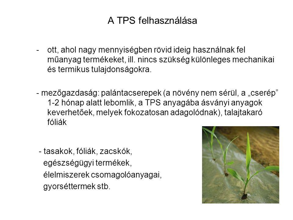 A TPS felhasználása