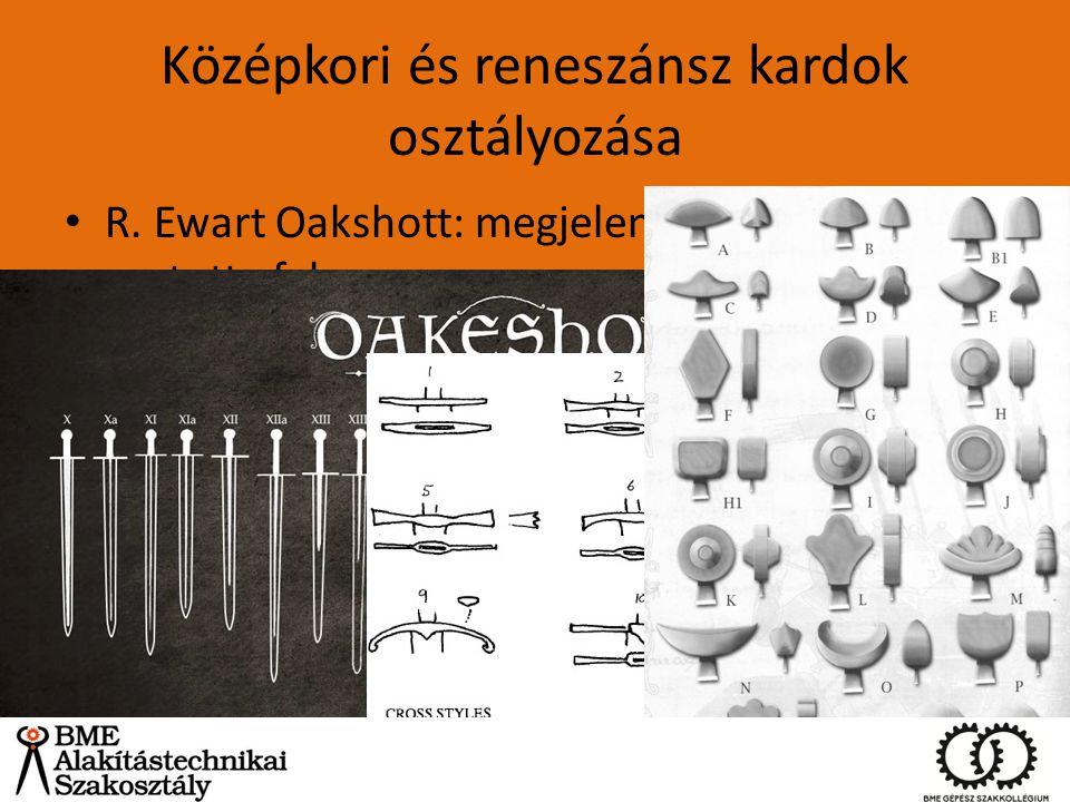 Középkori és reneszánsz kardok osztályozása