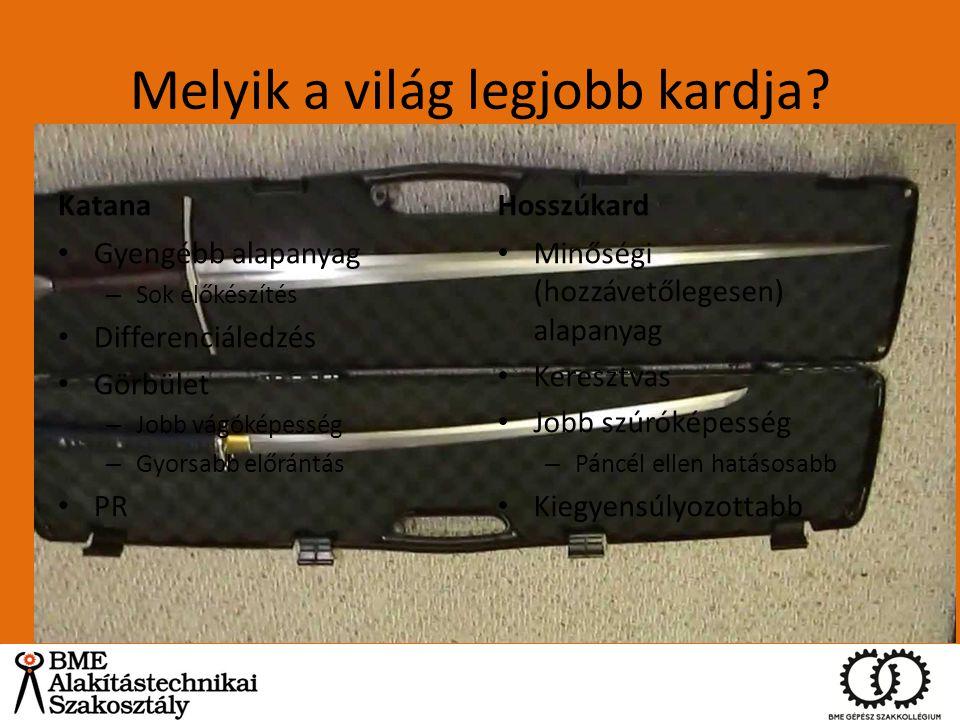 Melyik a világ legjobb kardja