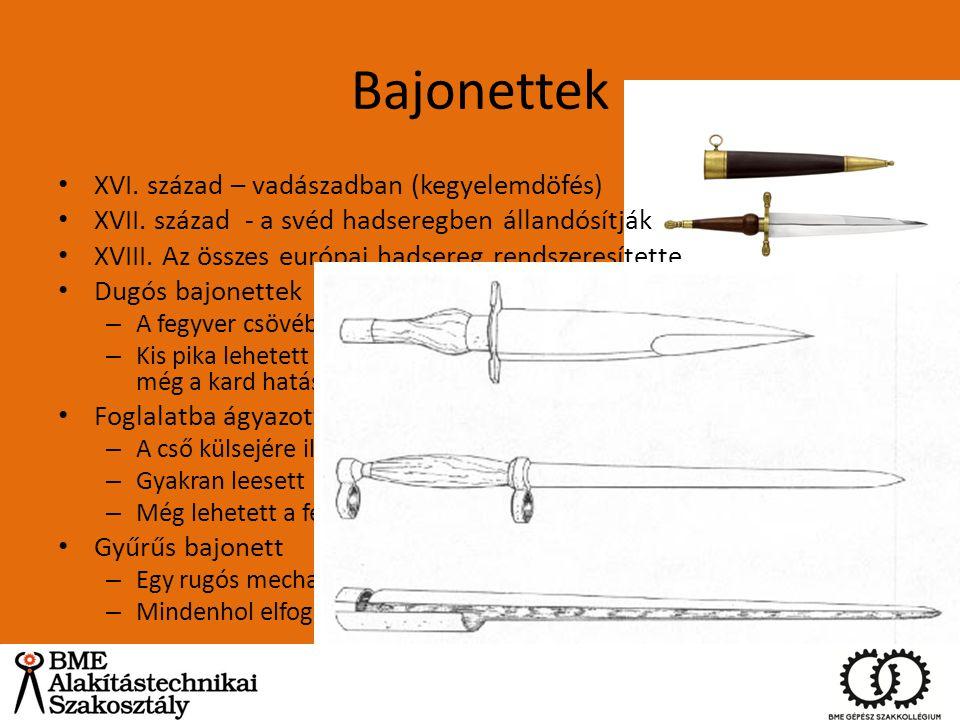 Bajonettek XVI. század – vadászadban (kegyelemdöfés)