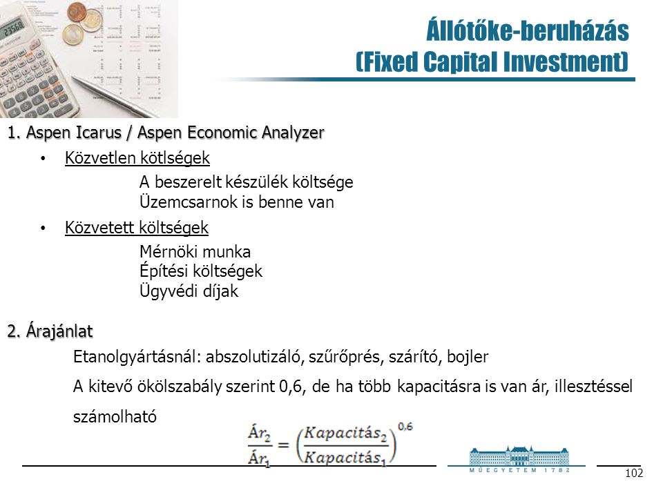Állótőke-beruházás (Fixed Capital Investment)