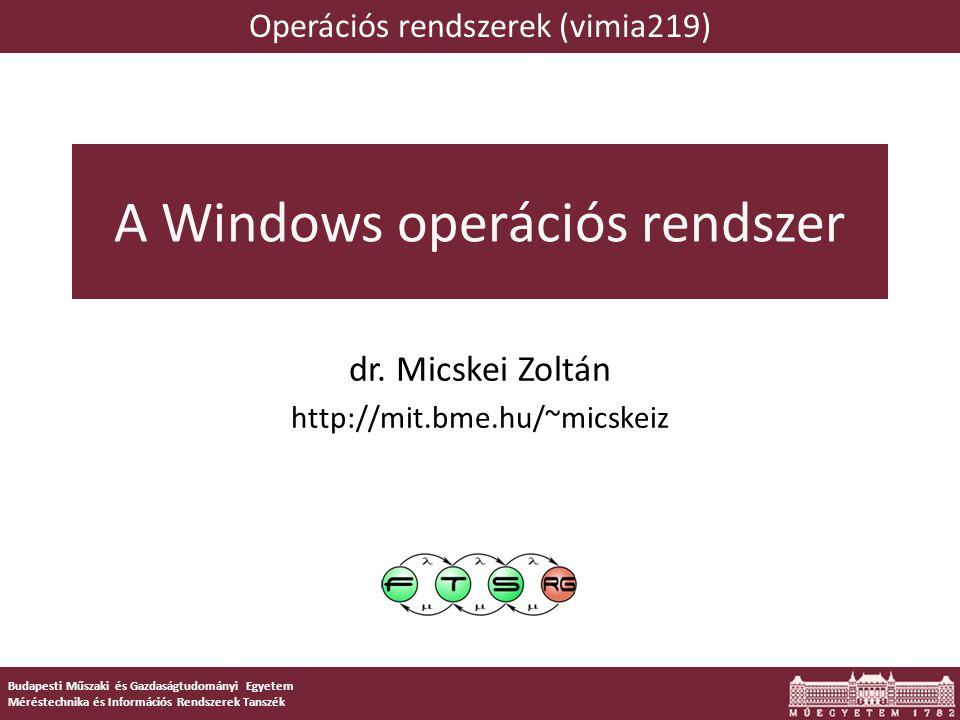 A Windows operációs rendszer