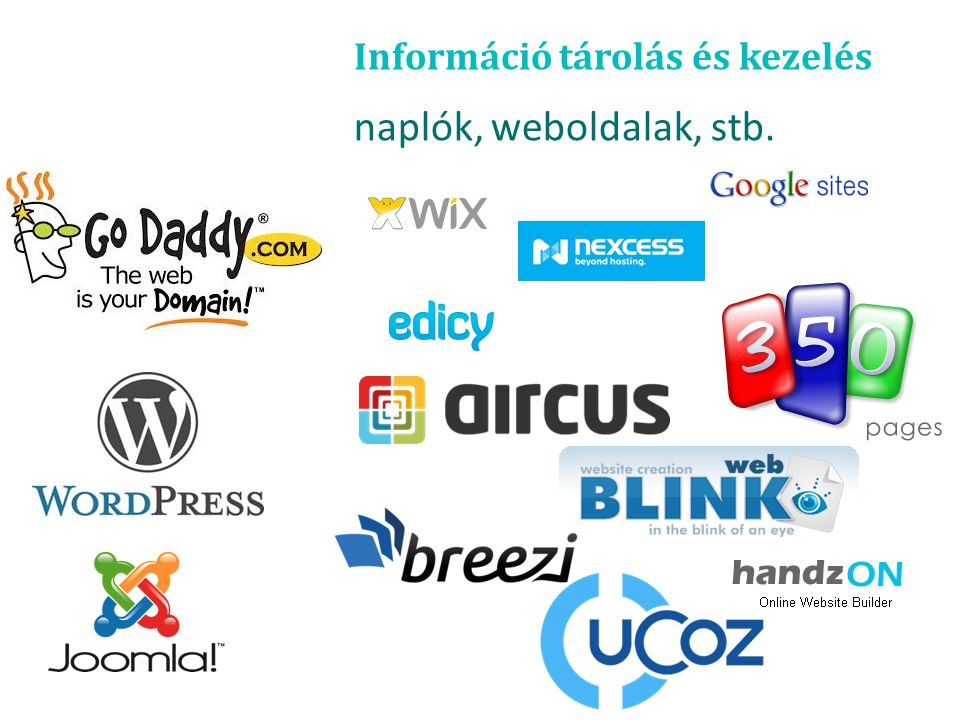 Információ tárolás és kezelés