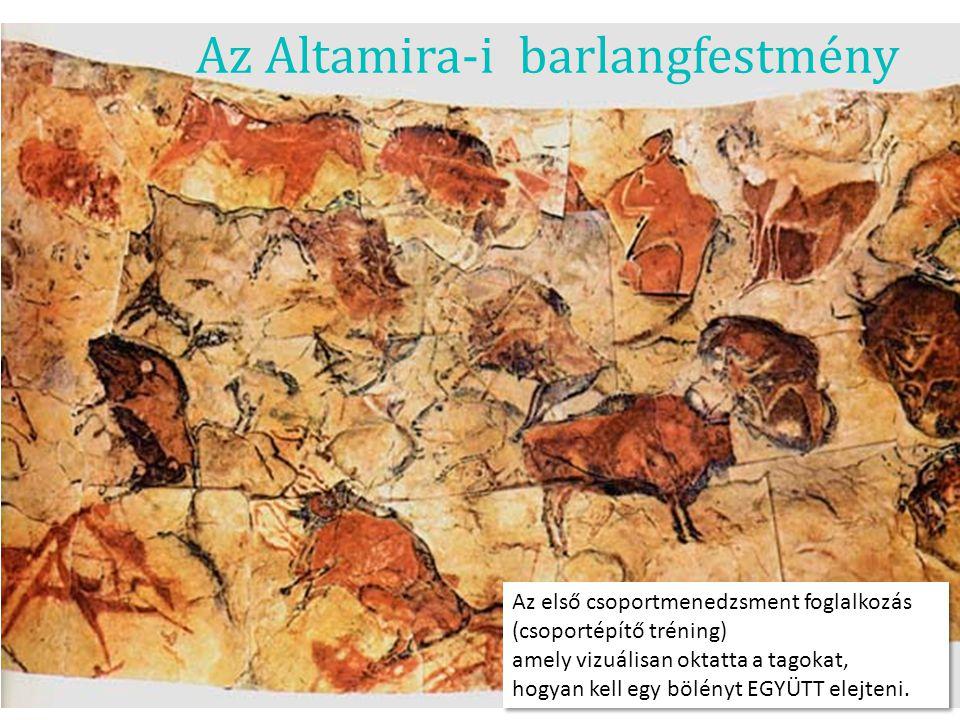 Az Altamira-i barlangfestmény
