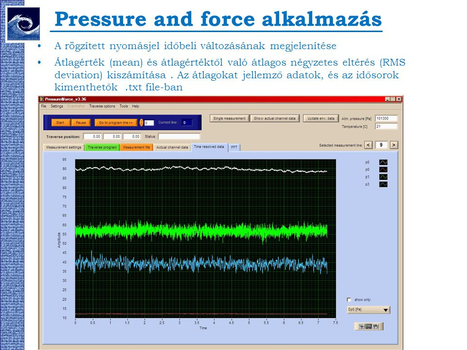 Pressure and force alkalmazás