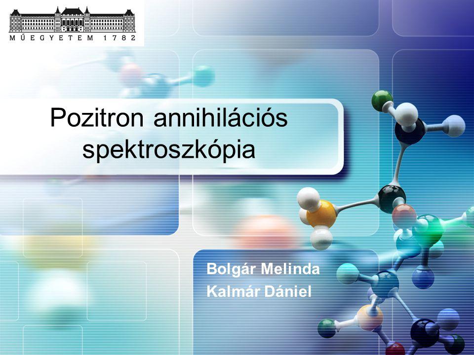 Pozitron annihilációs spektroszkópia