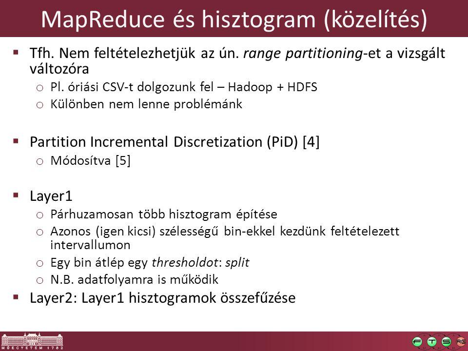 MapReduce és hisztogram (közelítés)