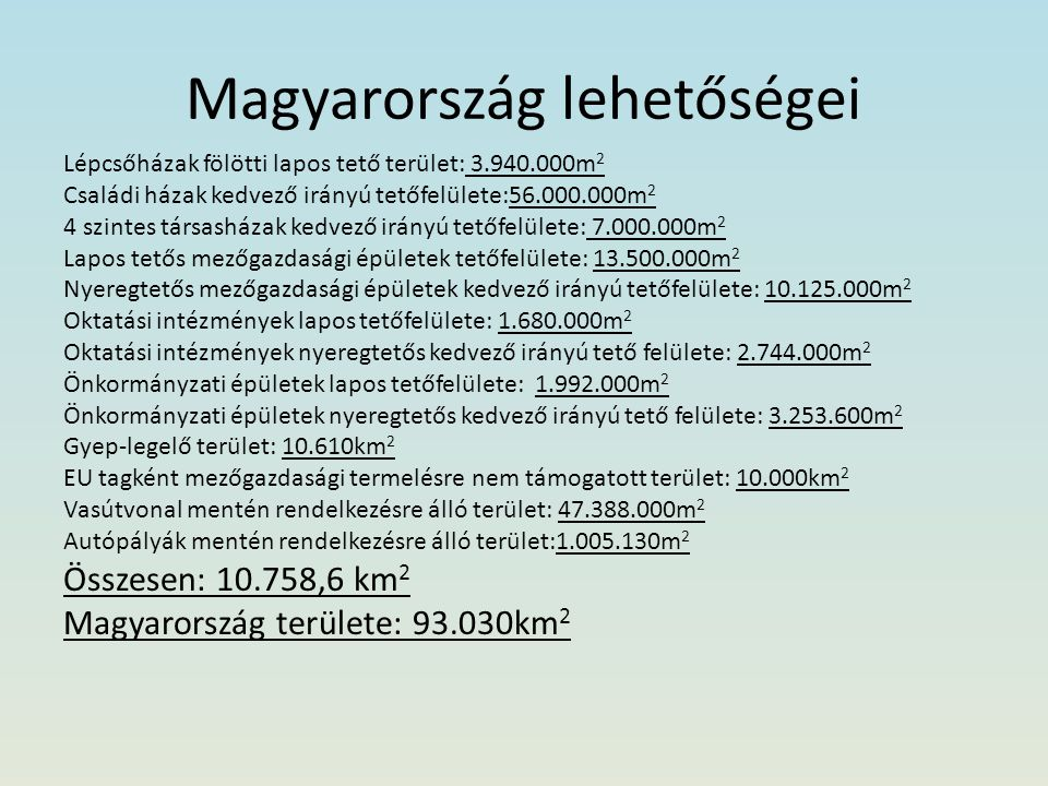 Magyarország lehetőségei