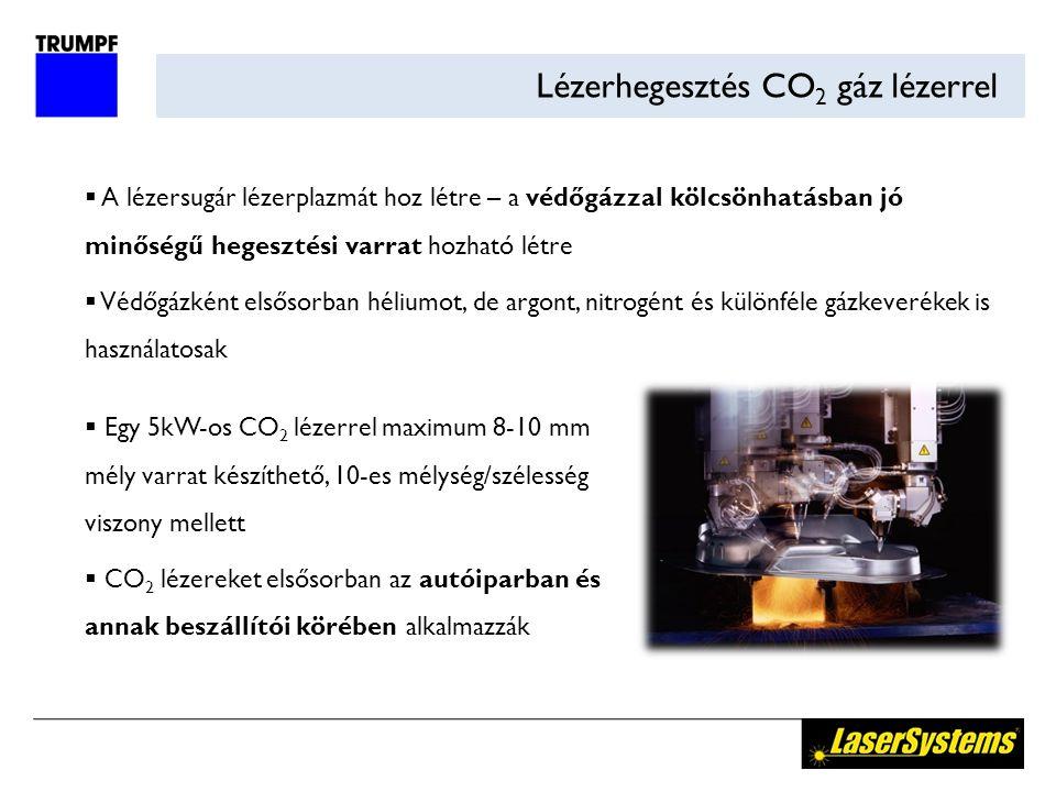 Lézerhegesztés CO2 gáz lézerrel