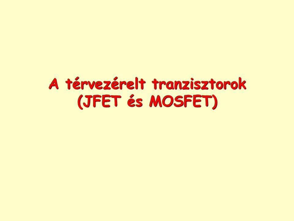 A térvezérelt tranzisztorok (JFET és MOSFET)