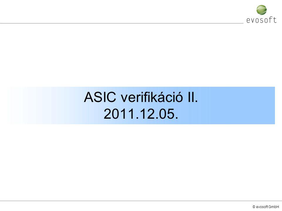 ASIC verifikáció II. 2011.12.05.