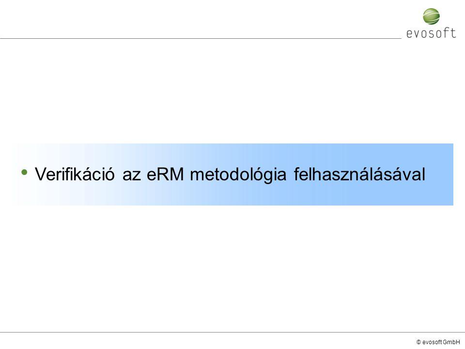 Verifikáció az eRM metodológia felhasználásával