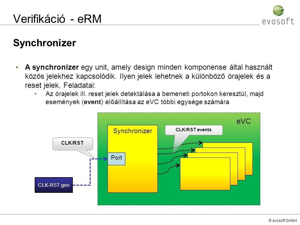 Verifikáció - eRM Synchronizer
