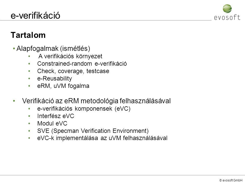 e-verifikáció Tartalom Alapfogalmak (ismétlés)