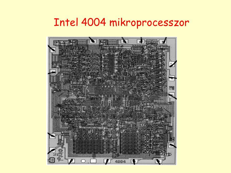 Intel 4004 mikroprocesszor