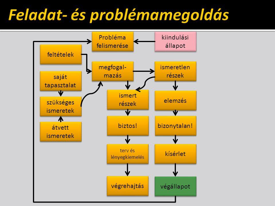 Feladat- és problémamegoldás