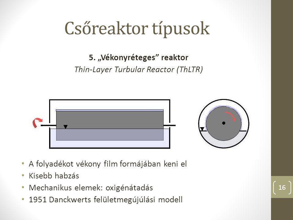 """5. """"Vékonyréteges reaktor"""
