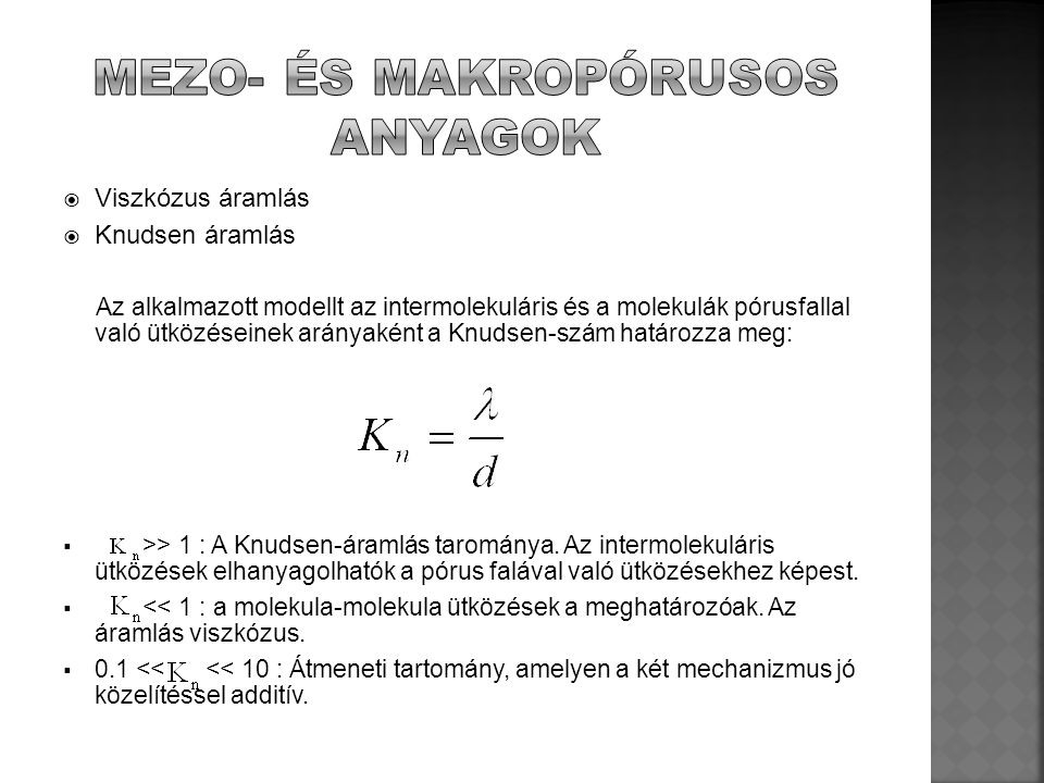 Mezo- és makropórusos anyagok
