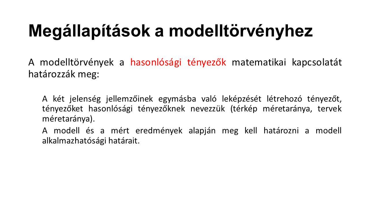 Megállapítások a modelltörvényhez