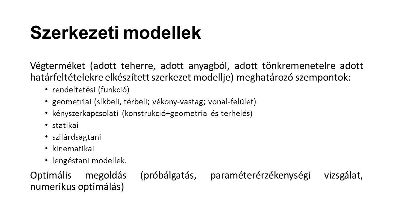 Szerkezeti modellek