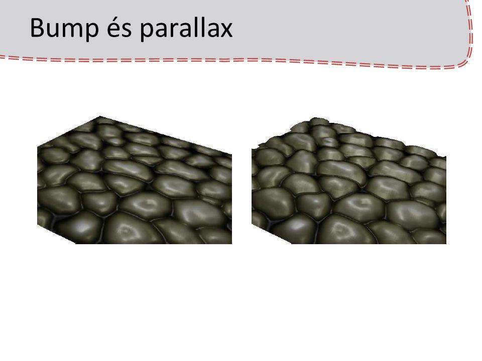 Bump és parallax