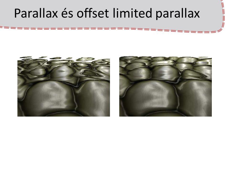 Parallax és offset limited parallax