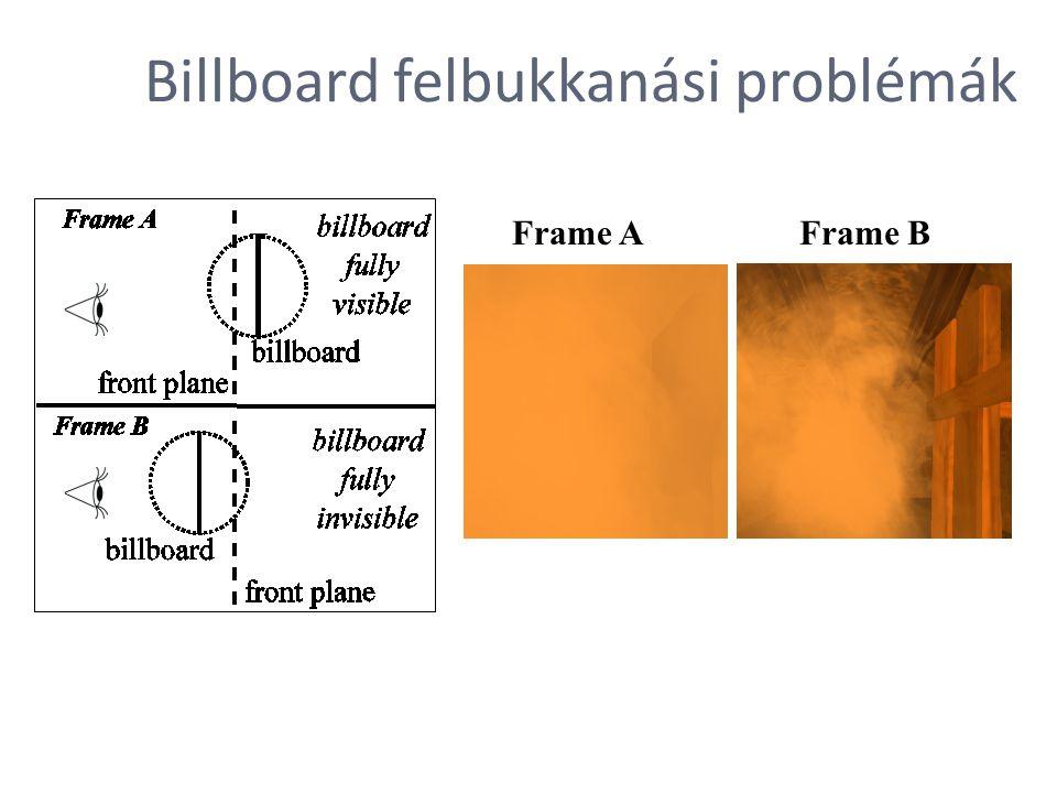 Billboard felbukkanási problémák