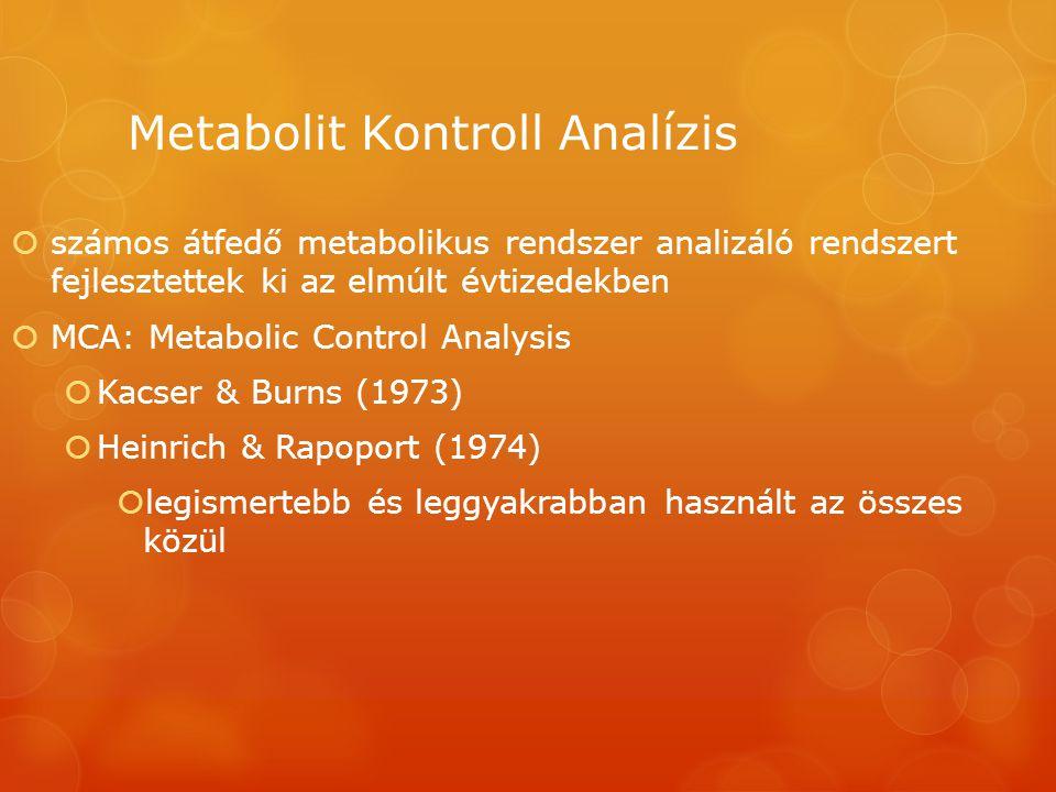Metabolit Kontroll Analízis