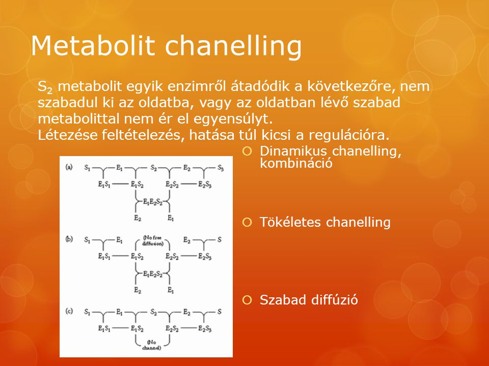 Metabolit chanelling
