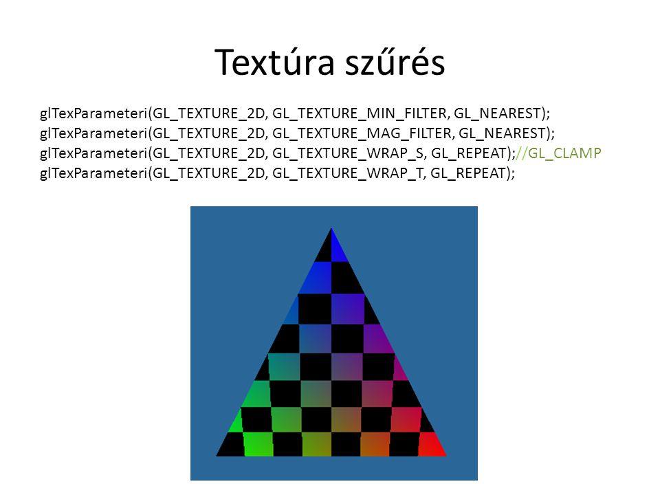Textúra szűrés