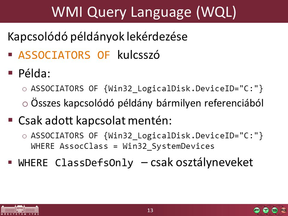 WMI Query Language (WQL)