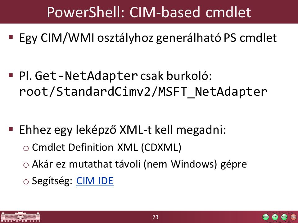 PowerShell: CIM-based cmdlet
