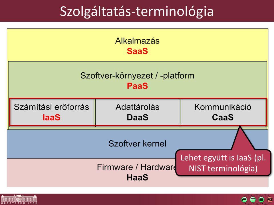 Szolgáltatás-terminológia