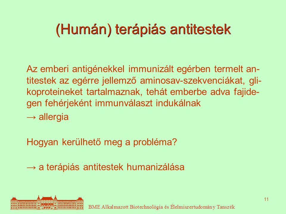 (Humán) terápiás antitestek