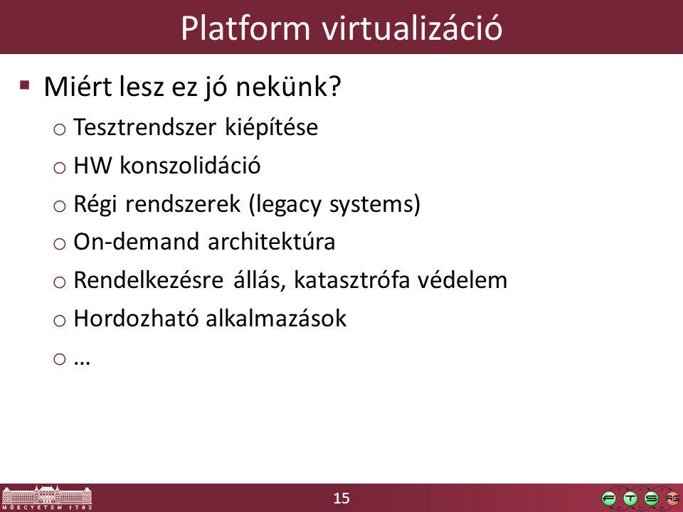 Platform virtualizáció