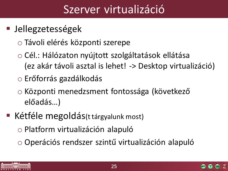 Szerver virtualizáció