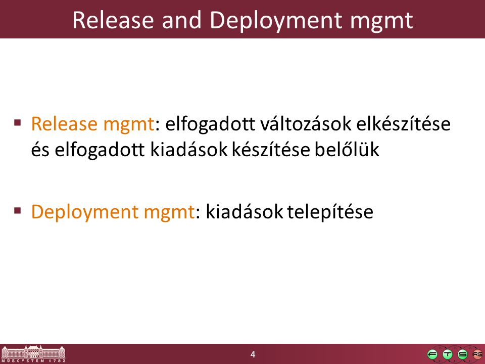 Release and Deployment mgmt