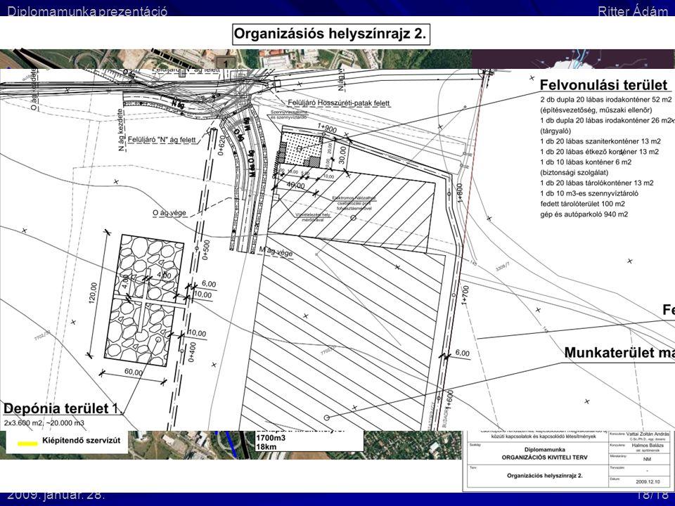 IV.2. Építési helyszín berendezése