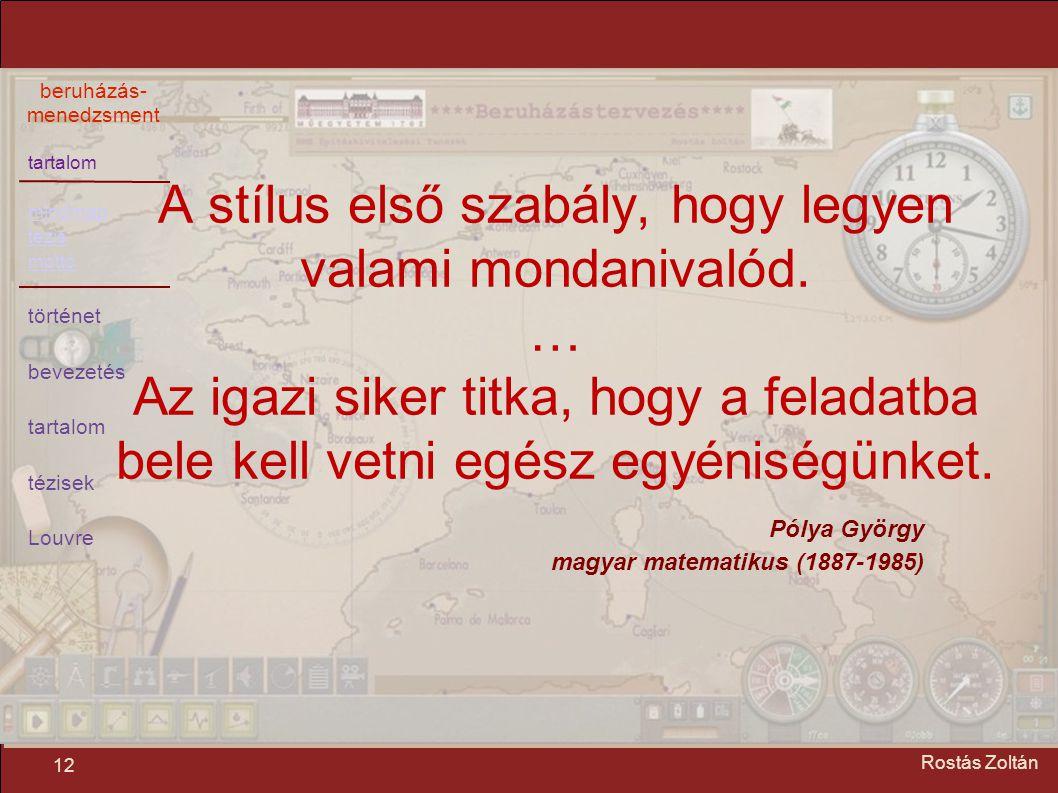 Pólya György magyar matematikus (1887-1985)