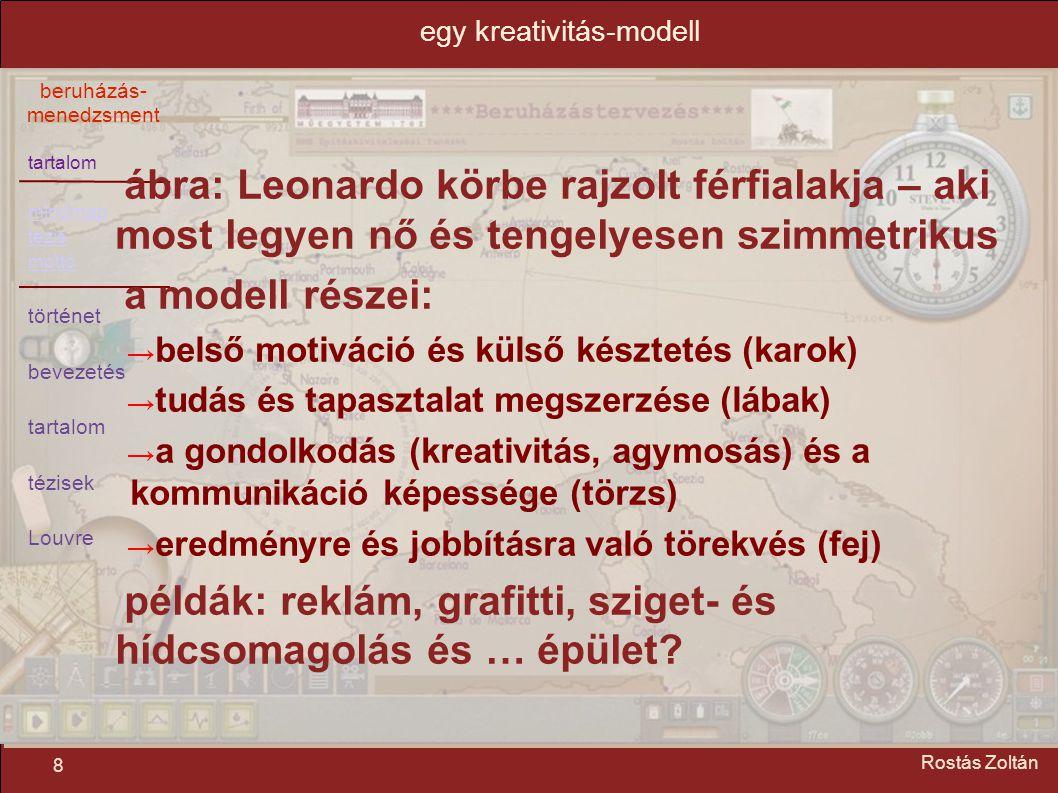 egy kreativitás-modell