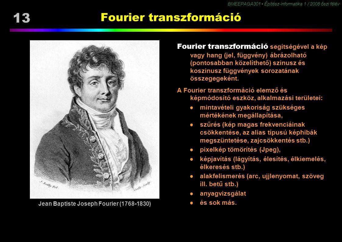 Fourier transzformáció