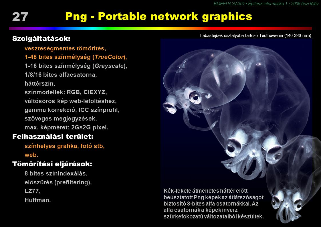 Png - Portable network graphics