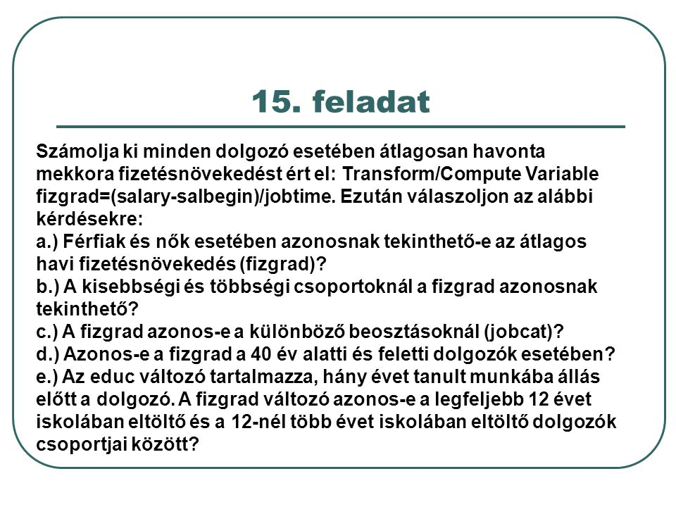 15. feladat