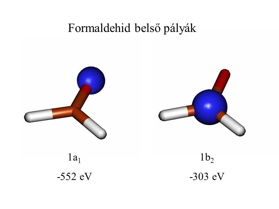 Formaldehid belső pályák