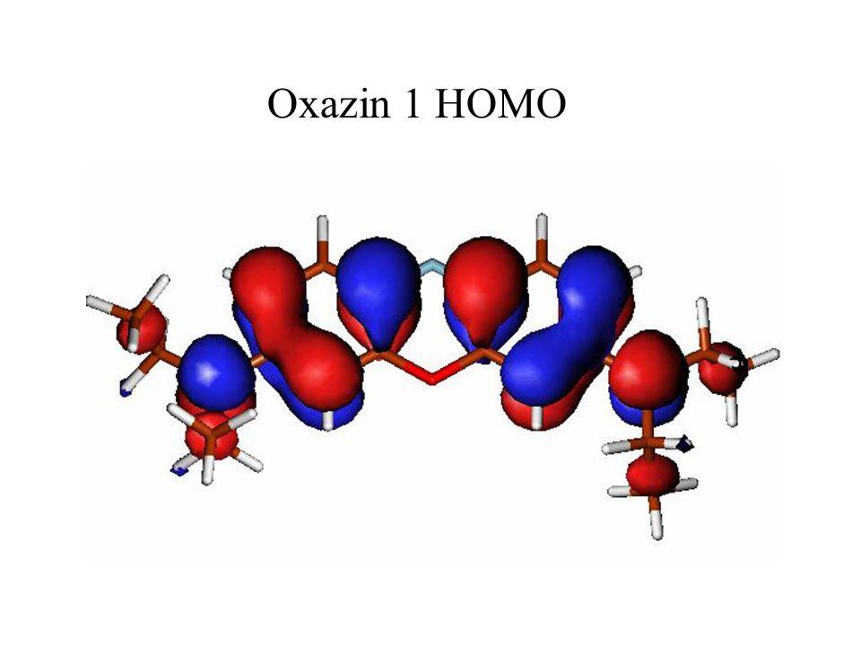 Oxazin 1 HOMO
