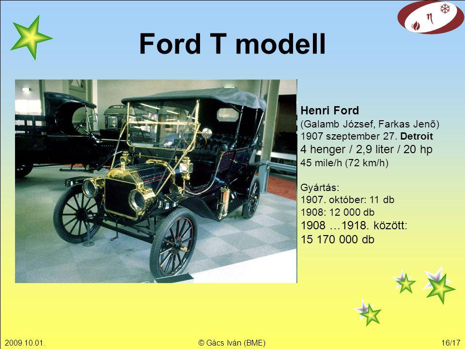Ford T modell Henri Ford (Galamb József, Farkas Jenő)