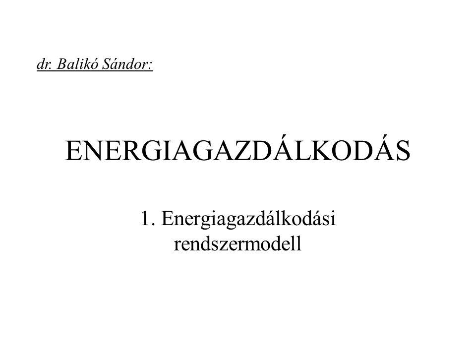 1. Energiagazdálkodási rendszermodell